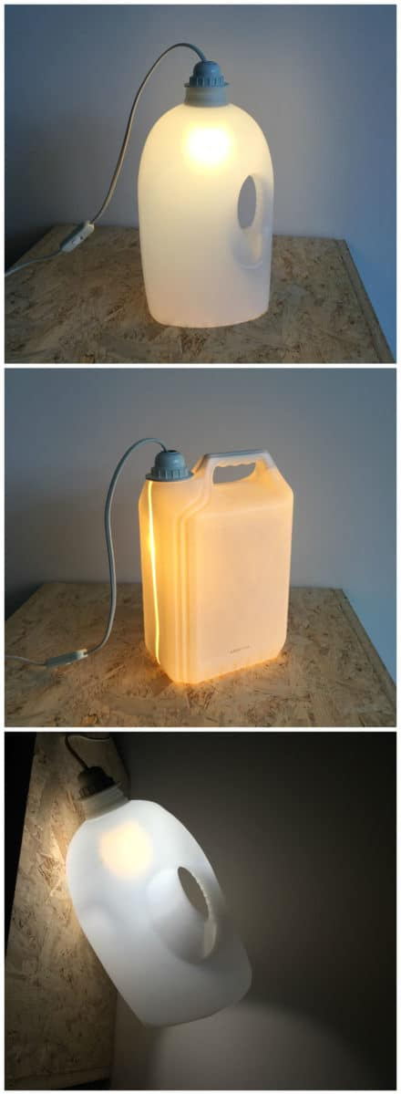 Plastic Bottle Lamps
