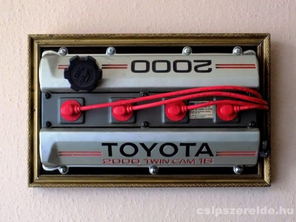 Toyotart On The Wall: Toyota 3s-ge Engine Frame Home Improvement