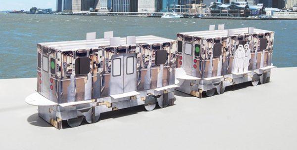 Cardboard-Train-Set