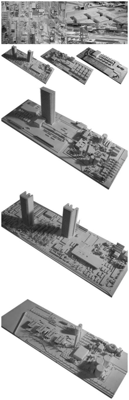 Elektro-cities: Cities from Electronic Parts