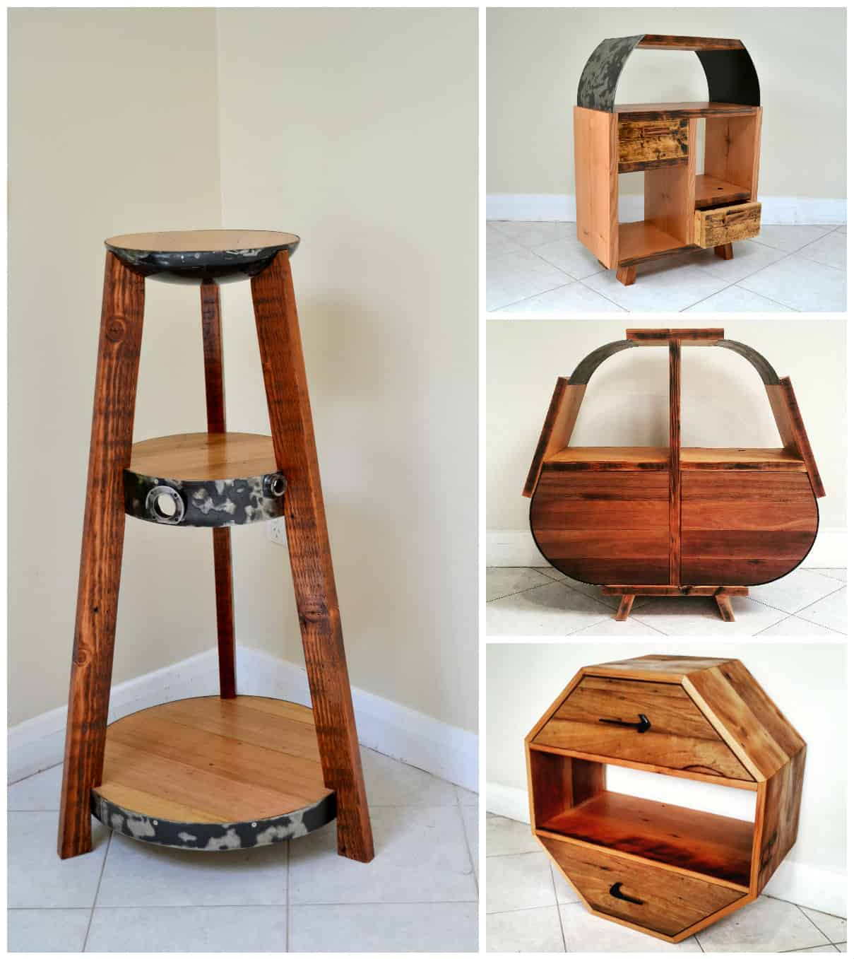 Old2new designs recycled furniture recyclart for Home furniture ideas
