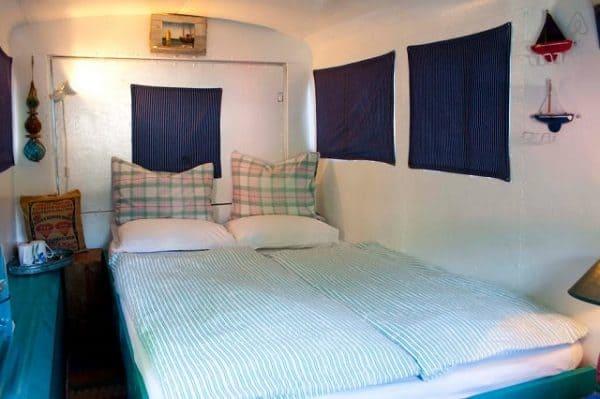 1968 Citroen Hy Van Transformed Into Guest Bedroom Cabin Mechanic & Friends