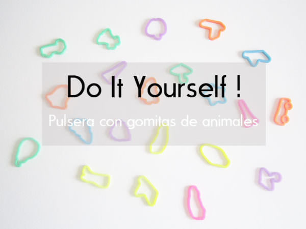 Cómo Crear Una Pulsera Con Gomas De Animales / Diy: Create a Bracelet with Animal Gums Do-It-Yourself Ideas