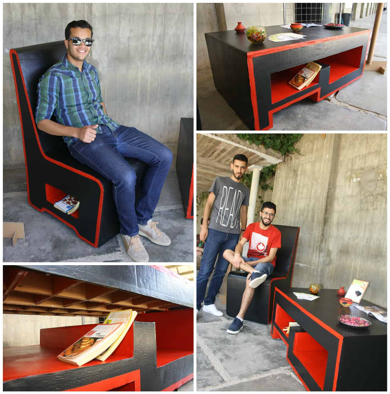 Cardboard furniture techniques how to achieve strength growing up - Cardboard Furniture Techniques How To Achieve Strength Growing Up 35