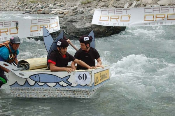 The Carton Rapid Race Built Your Boat With Recycled Cardboard Do It