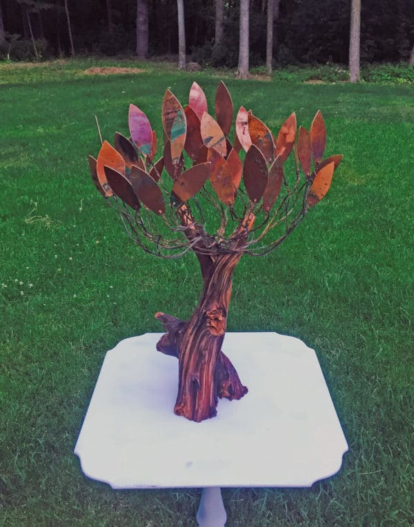 Tree Of Life & Other Projects Recycled Art Recycling Metal Wood & Organic