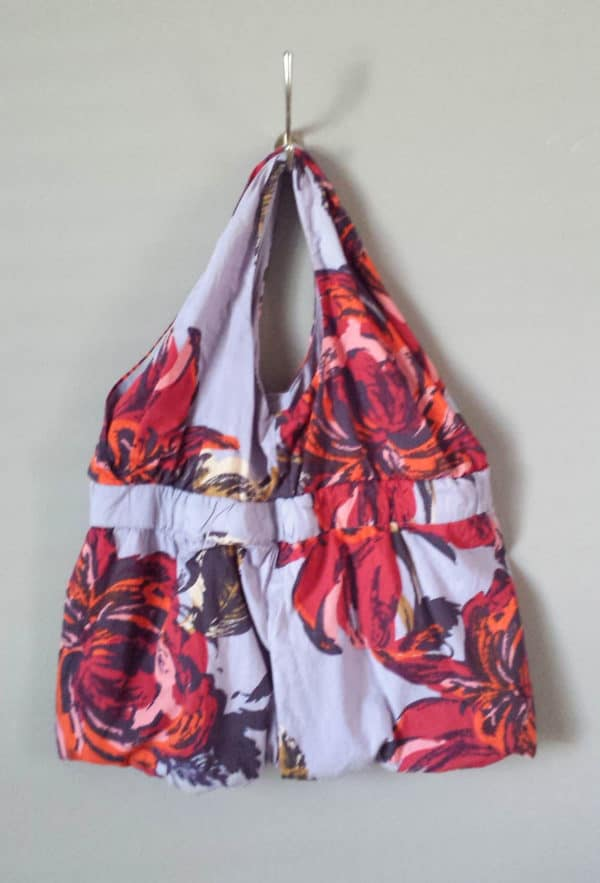 Diy From Dress To Unique Bag Clothing