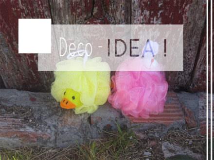 Idea Para Organizar Las Esponjas De Baño / Bath Sponges Upcycling Idea