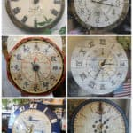 Leslie's Recycled Table Clocks