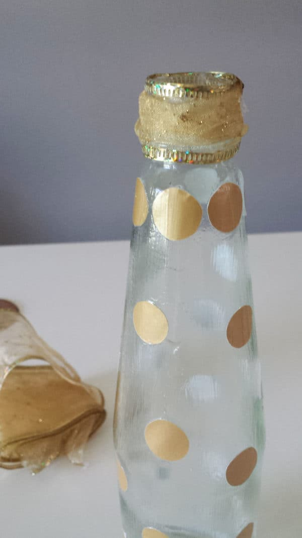 Repurposed Sauce Bottle DIY Recycled Glass