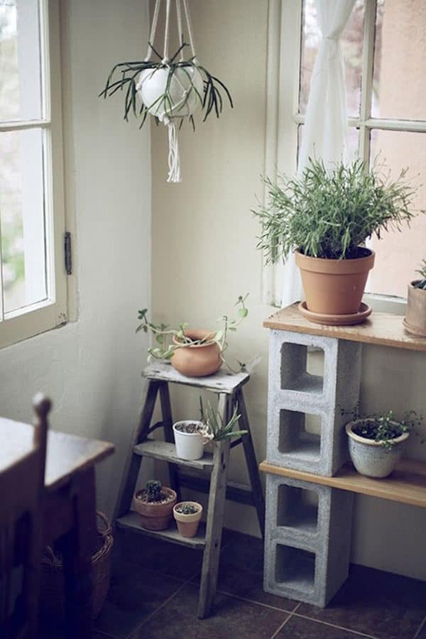 10 Fabulous Ideas for Your Home Décor Made from Concrete Blocks Do-It-Yourself Ideas Home & décor