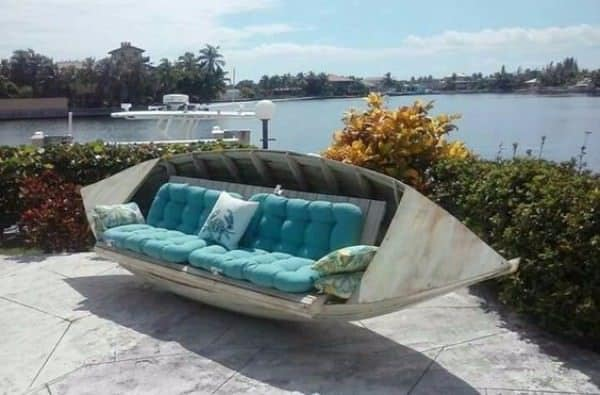 35 Amazing Ways to Upcycle Old Boats Do-It-Yourself Ideas