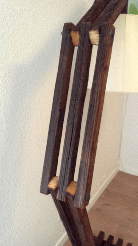 Reclaimed Slats Into Design Lamp Lamps & Lights Wood & Organic