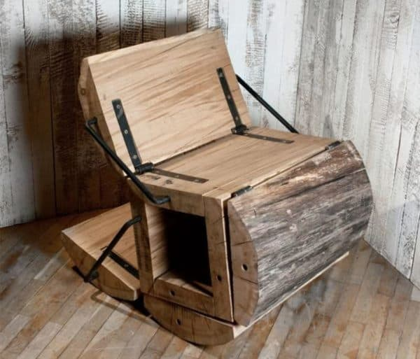 The Waste Less Rockin Chair By Architecture