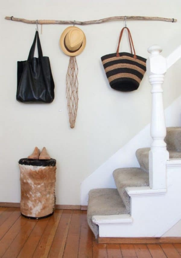 Diy Driftwood Decor Hallway Wall Hook