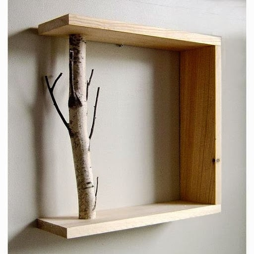 60+ Simple & Creative Ideas to Use Wood Branches into Your Home Decoration Do-It-Yourself Ideas