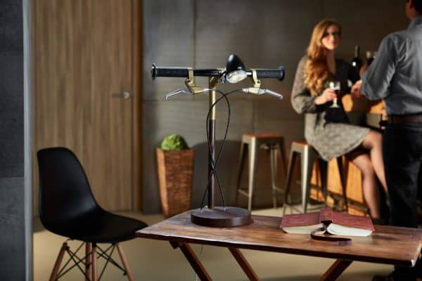 Bike Me Home – Industrial Kid Desk Lamps Bring Cycling Obsession To Your Desk Lamps & Lights