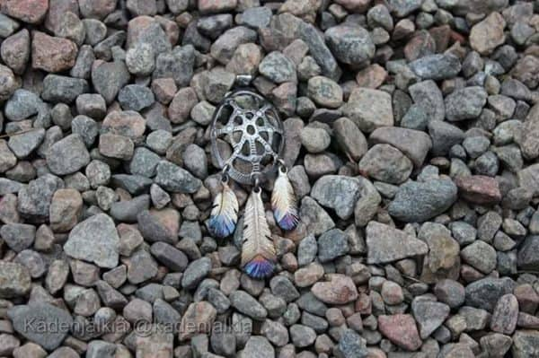 Dreamcatcher from Stainless Teaspoon & Handles Recycling Metal