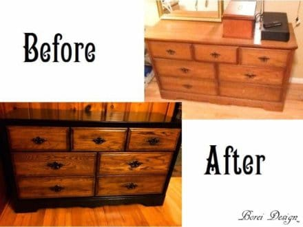 How My Friend's Old Dresser Became My New Buffet