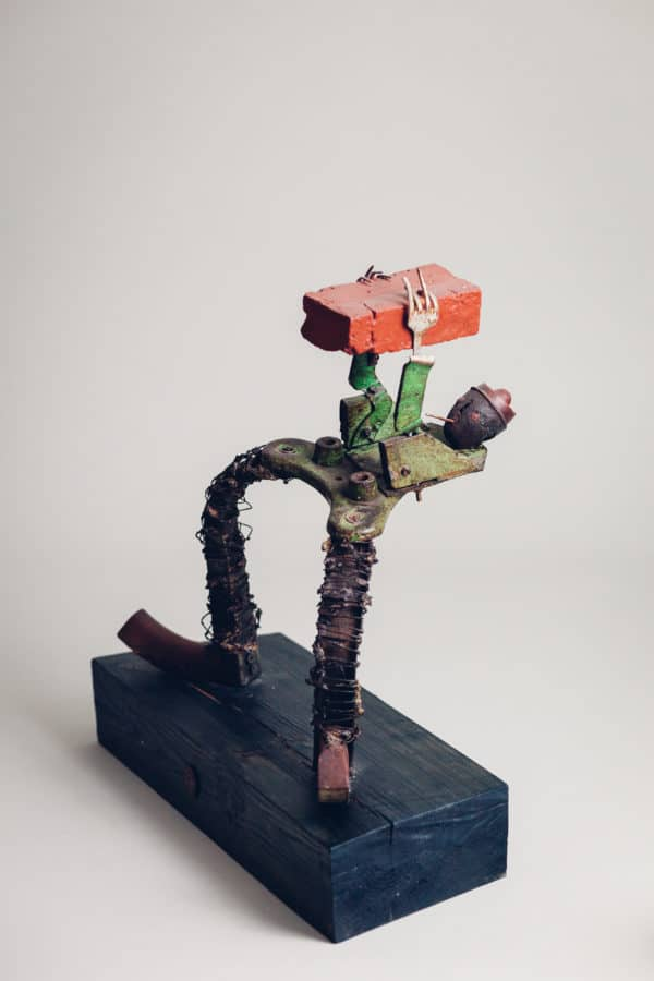 My New Upcycling Sculptures Recycled Art