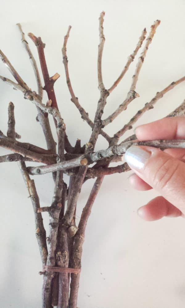 Twig Decor twig tree wall decor diy • recyclart