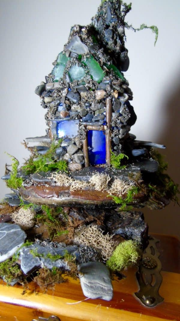 My Island Nightlight Recycled Art Wood & Organic