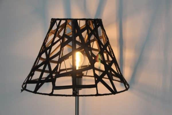 Lampshades of Recycled Rubber