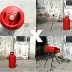 Paradox: Outdoor Bbq From An Old Gas Cylinder