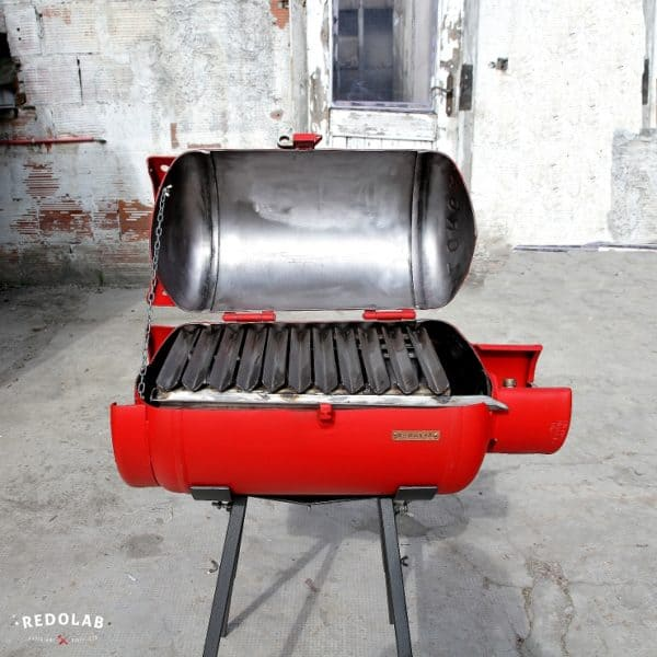Paradox Outdoor Bbq From An Old Gas Cylinder Recyclart