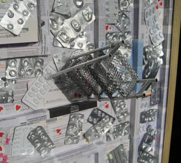 F…king Brain Recycled Art