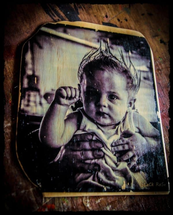 Hardly Wasted Artworks: Photography on Recycled Timber