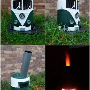 Volkswagen Campervan Log Burner