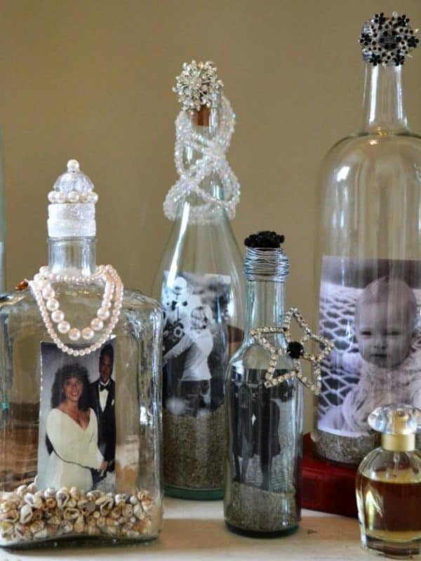Repurpose Old Glass Bottles2