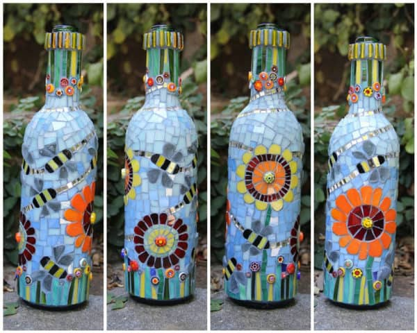 10 Creative & Simple Ways to Repurpose Old Glass Bottles Do-It-Yourself Ideas
