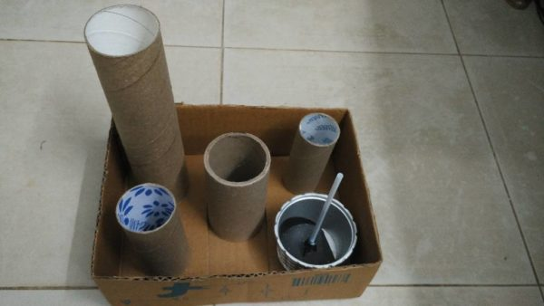 Diy: Accessories Storage From Recycled Toilet Paper Rolls Recycled Packaging