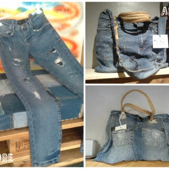 Fare Delle Borse Con Un Pantalone Di Jeans / Bags Out Of Upcycled Old Jeans Pants