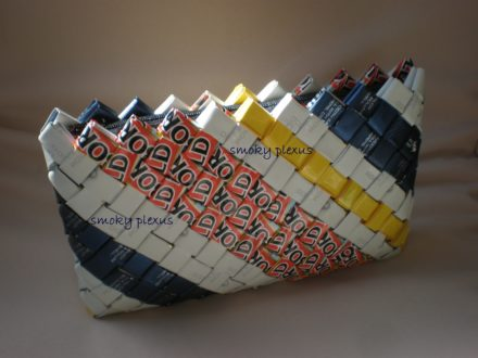Smoky Plexus Upcycled Handbags