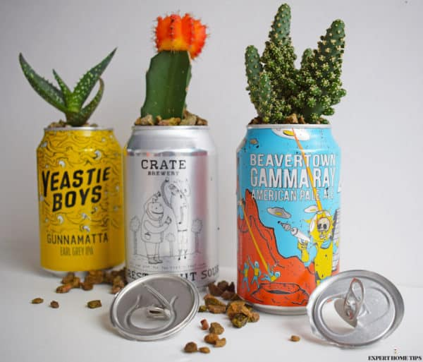 A Crazy-cute Way to Upcycle Your Empty Drink Can Recycling Metal