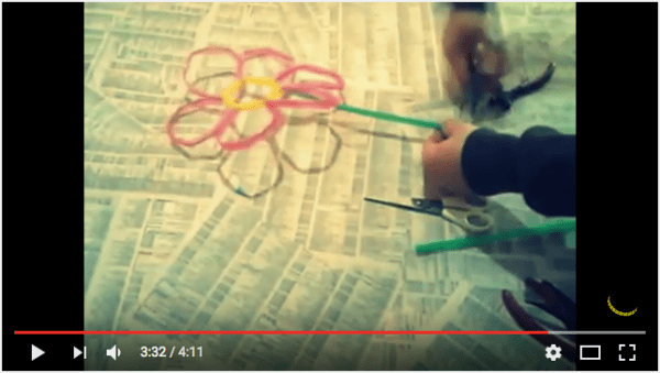 Diy: Make Flowers Using Straws Recycled Plastic