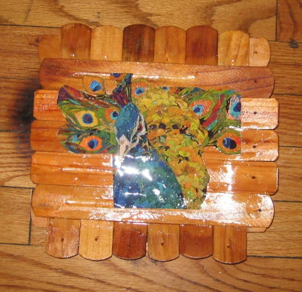 Turn Old Incense Burners Into Mini Trays! Recycled Art Wood & Organic