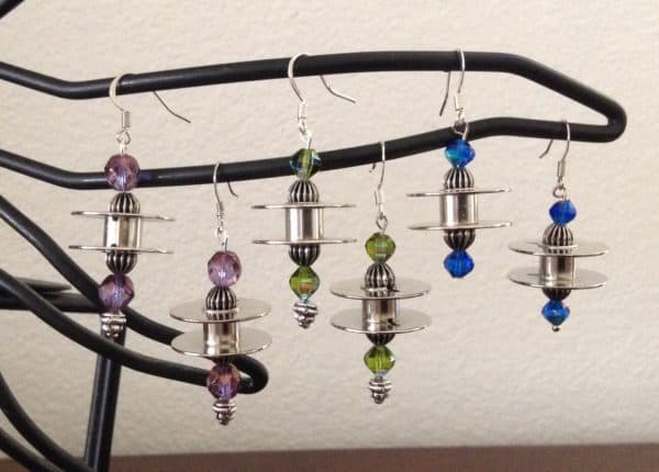 Sewing Machine Bobbins Into Earrings5