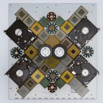 Reconstructed Hardware Computer Art