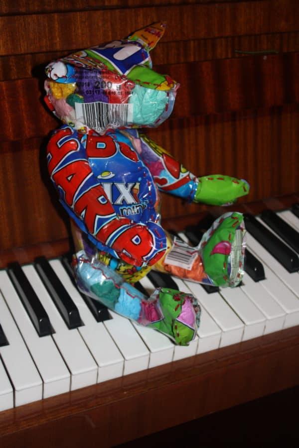 Upcycled Rubbish Bears