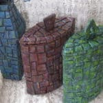 Cardboard Mosaic Containers Are Amazing!