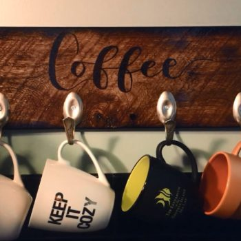 Diy Video Tutorial: Upcycled Spoon Cup Hooks