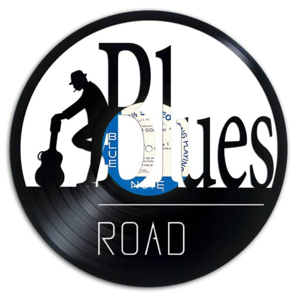 Blues Road Recycled Vinyl Records.