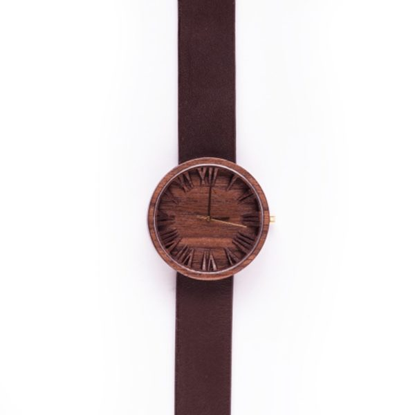 Upcycled Hardwood Becomes Wooden Watches Accessories Wood & Organic
