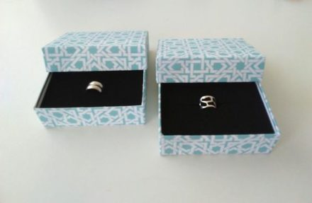 Upcycled Jewelry Holder Cardboard Boxes For Great Gift Giving