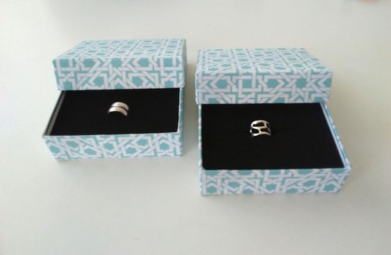 Upcycled Jewelry Holder Cardboard Boxes For Great Gift Giving Recycled Cardboard
