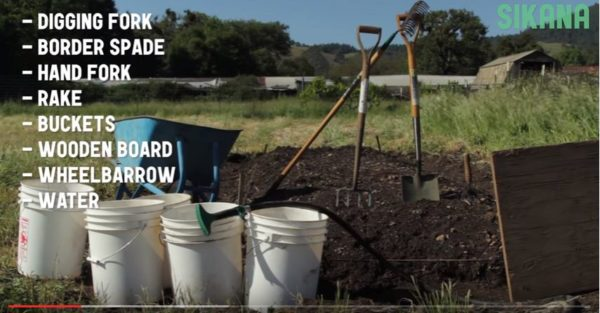 Diy Video Tutorial: Biointensive Soil Prep Diy video tutorials Garden Ideas